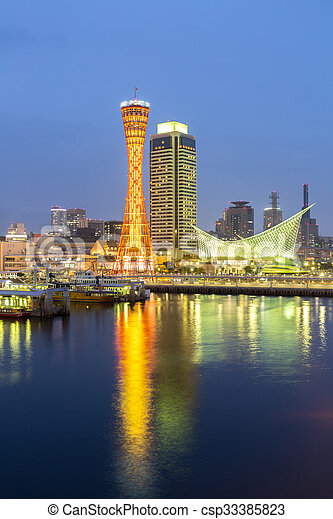 Kobe Tower - csp33385823