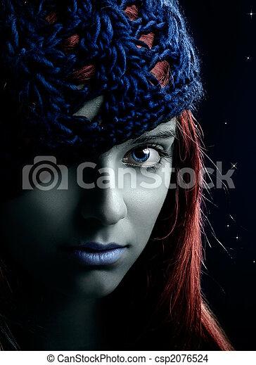 kobieta, fason - csp2076524