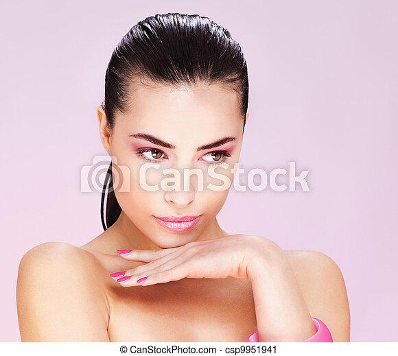 kobieta, młody, ładny - csp9951941