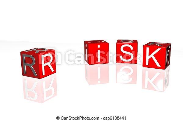 kockáztat - csp6108441