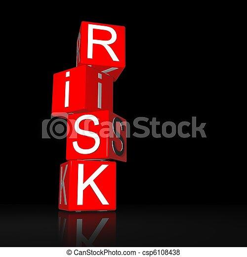 kockáztat - csp6108438