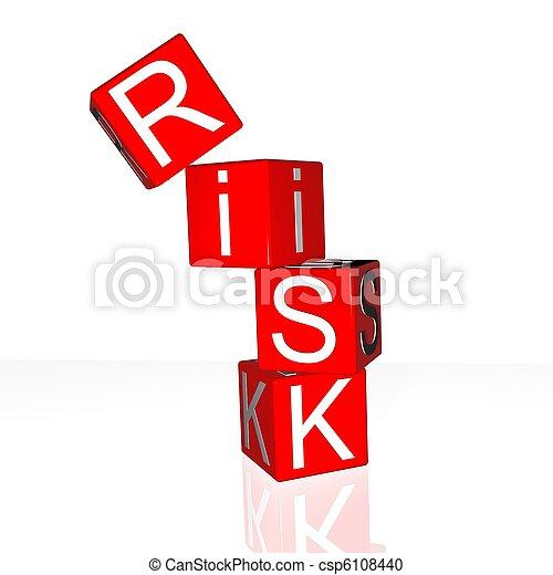 kockáztat - csp6108440