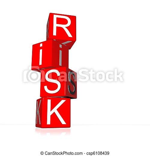 kockáztat - csp6108439