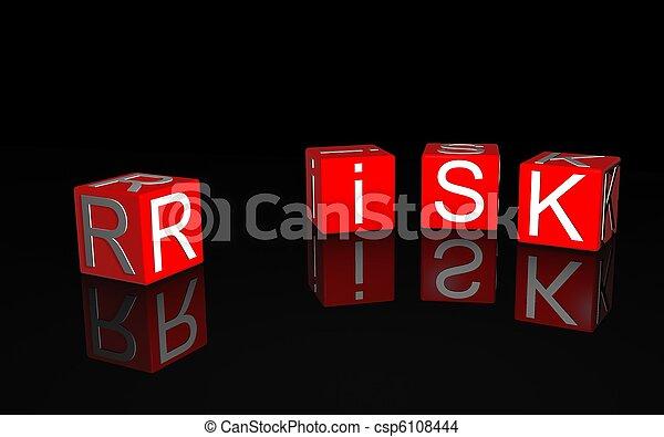 kockáztat - csp6108444