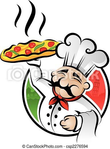 kock, pizza - csp2276594