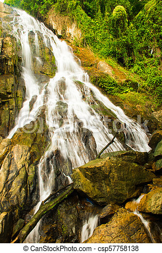 Na muang 2 cascada, koh samui, thailand - csp57758138