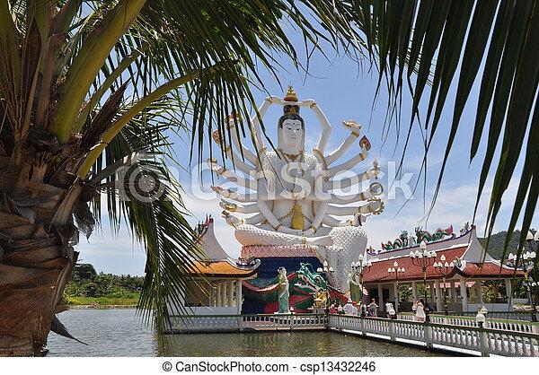 Koh samui buddha - csp13432246