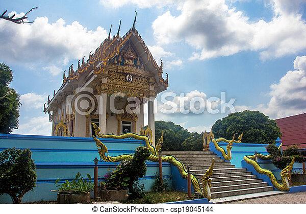 Templo en koh samui - csp19045144