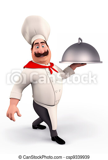 kok, het glimlachen, pot - csp9339939