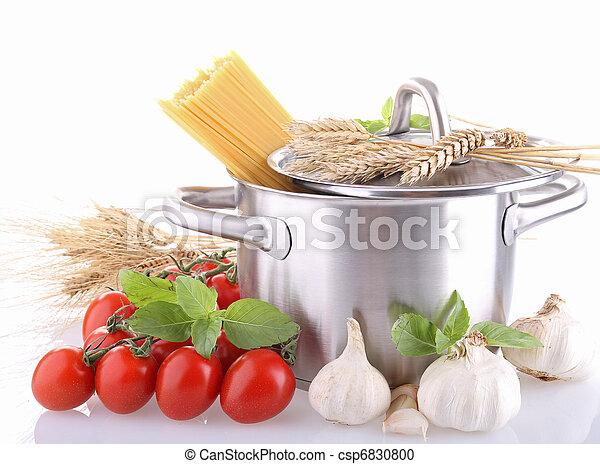 kokende pot, spaghetti - csp6830800