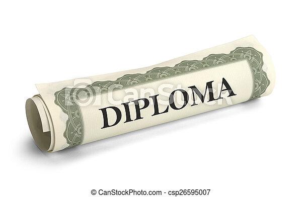 kolegium, dyplom - csp26595007
