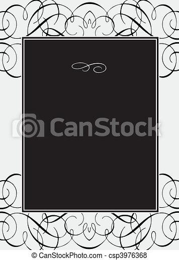 kolken, frame, vector - csp3976368