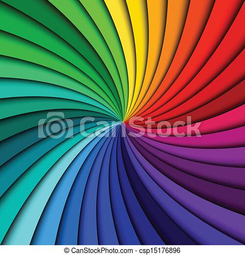 kolken, regenboog, kleurrijke - csp15176896