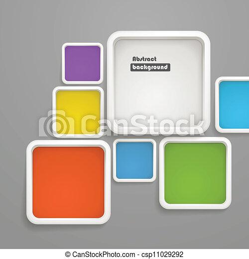 kolor, abstrakcyjny, kabiny, tło - csp11029292