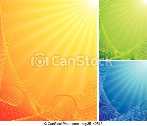 kolor, abstrakcyjny, tło - csp35142513