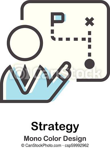 kolor, mono, ilustracja, strategia - csp59992962