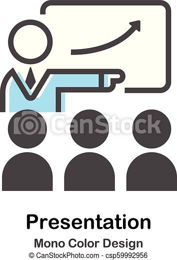 kolor, mono, prezentacja, ilustracja - csp59992956