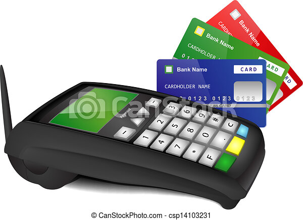 kolor, terminal, bilety, wpłata, bank - csp14103231