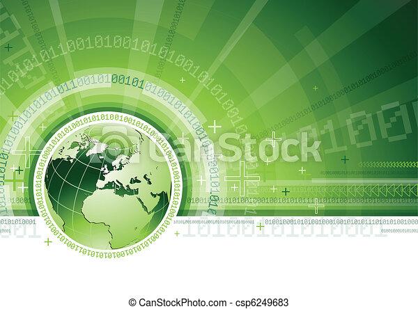 Globale Kommunikation - csp6249683