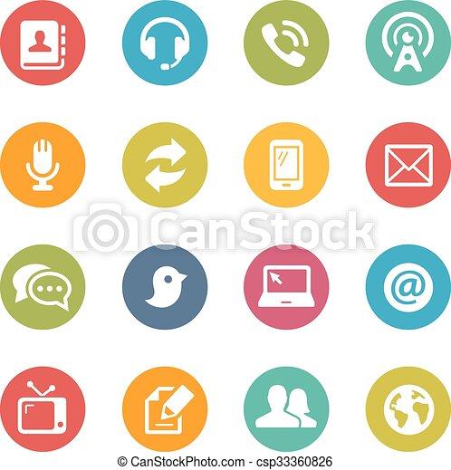 kommunikation, heiligenbilder - csp33360826