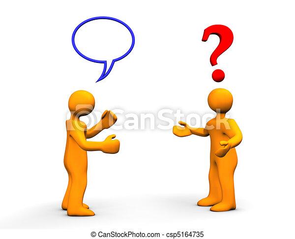 kommunikation, problem - csp5164735