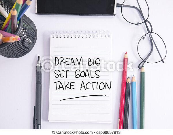 komplet, cielna, cele, czyn, sen, wziąć - csp68857913