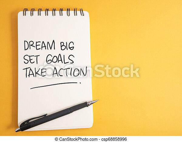 komplet, cielna, cele, czyn, sen, wziąć - csp68858996