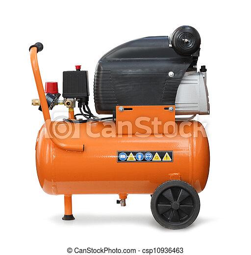 kompresor, odizolowany, powietrze - csp10936463