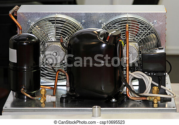Kühlschrank Kompressor : Kompressor kühlschrank einheit. lüften kompressor pumpe