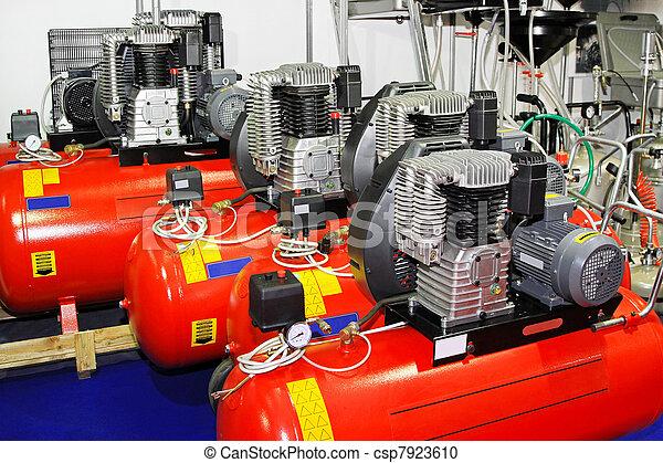 kompressoren, luft - csp7923610