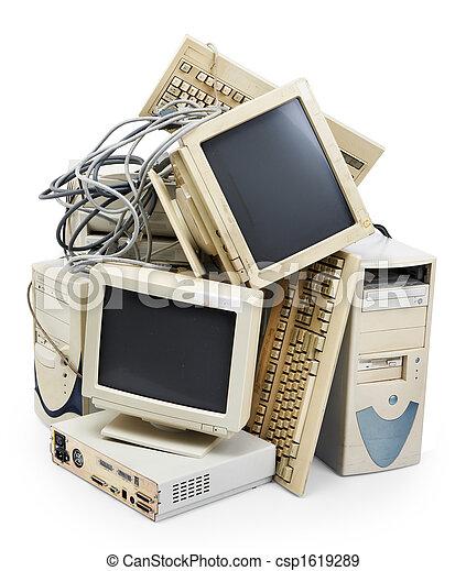 komputer, przestarzały - csp1619289