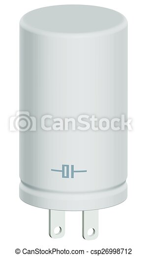 Verschieden, design, kondensator, ikone Vektor Clipart - Suchen Sie ...