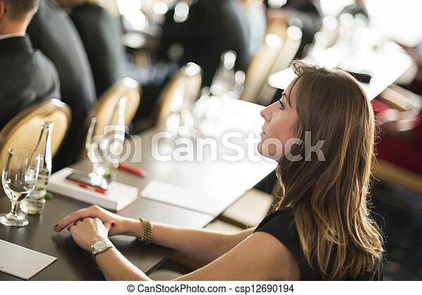 konferencja, handlowy - csp12690194