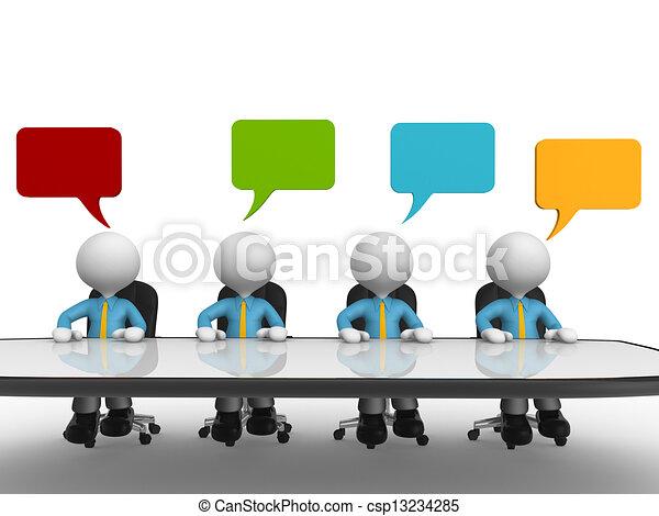 Konferenztisch - csp13234285