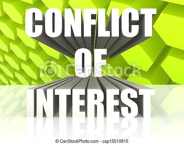 konflikten, interesse - csp15510815