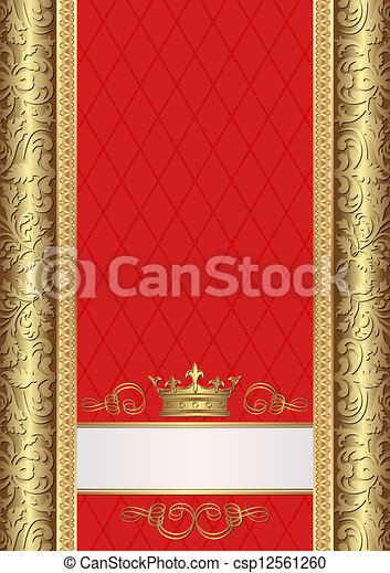 koninklijk, achtergrond - csp12561260