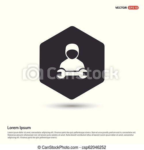 konstruál, ikon - csp62046252