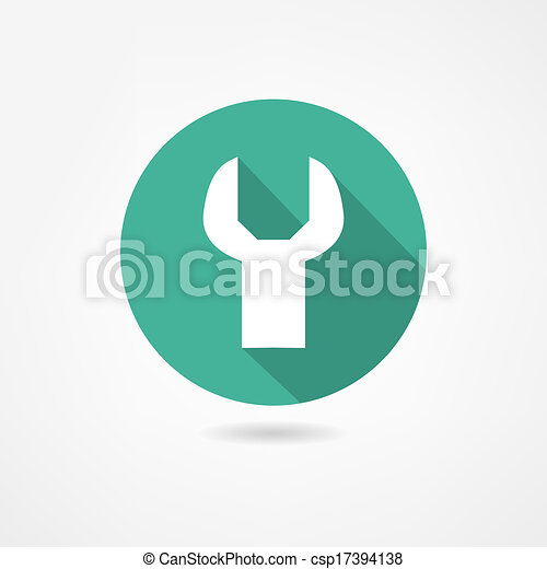 konstruál, ikon - csp17394138