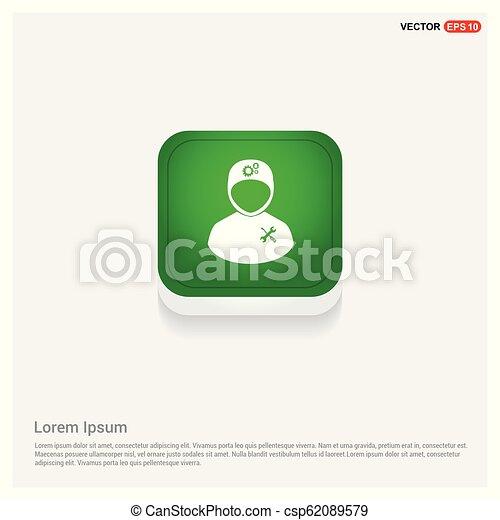 konstruál, ikon - csp62089579