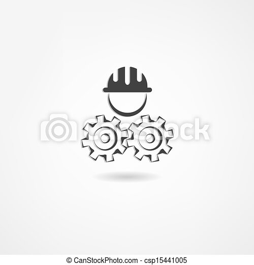 konstruál, ikon - csp15441005