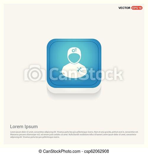 konstruál, ikon - csp62062908