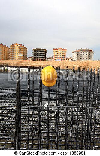 konstruktion, bakgrund - csp11388981