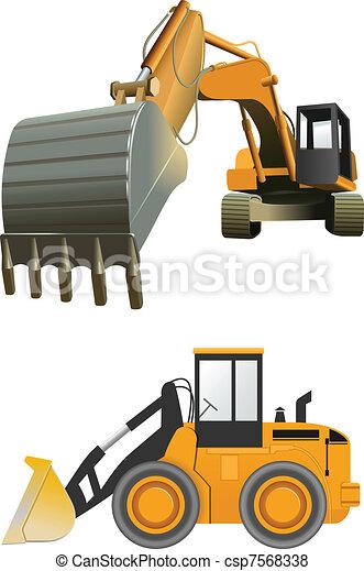 konstruktion, maskiner - csp7568338