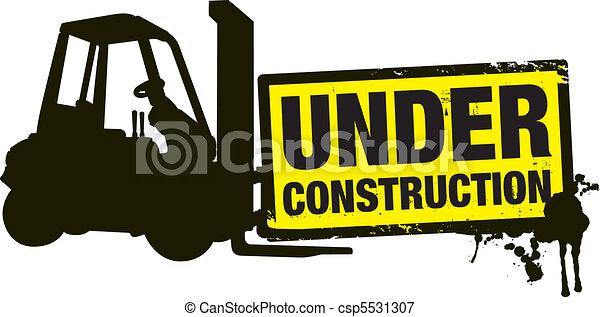 konstruktion, under - csp5531307