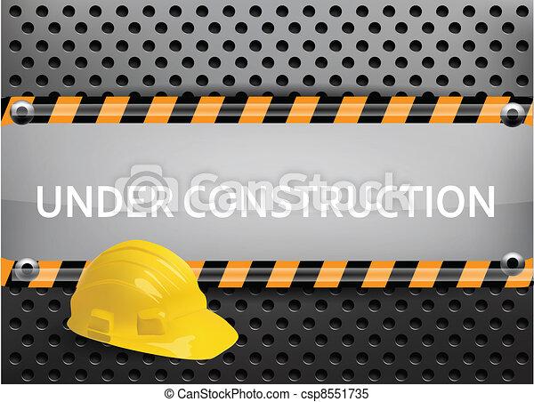 konstruktion, under - csp8551735