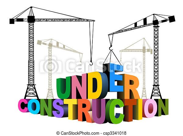 konstruktion, under - csp3341018