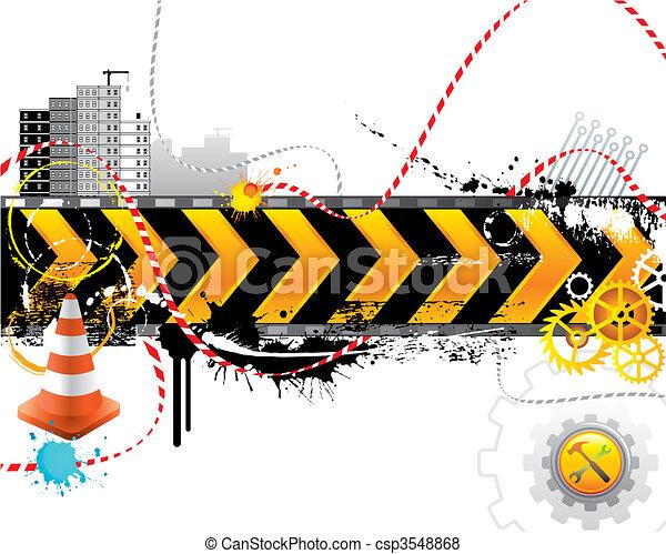 konstruktion, under - csp3548868