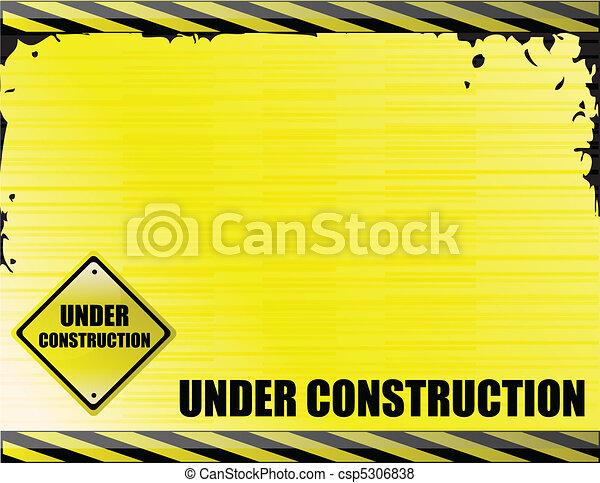 konstruktion, under - csp5306838