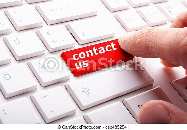 kontakt oss - csp4852541