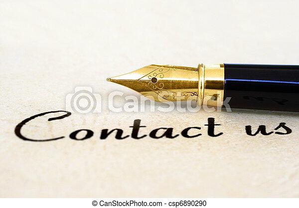 kontakt oss - csp6890290
